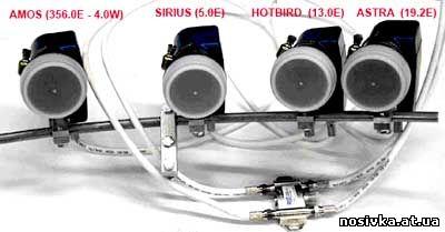 спутники головки спутниковых антен схема описание